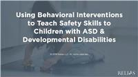 Safety Skills for Children with ASD