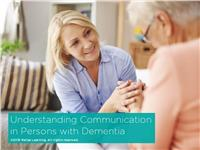 Understanding Communication in Persons with Dementia